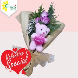Jual Bunga Mawar Valentine di Cilodong