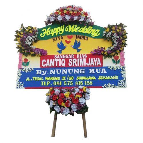Bunga Happy Wedding Semarang SML-15