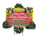 jual bunga papan happy wedding di samarinda SMR - 013