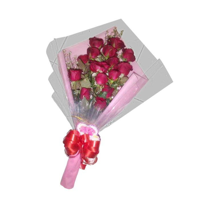 jual hand bouquet di tasikmalaya TSM HB - 02 elora florist