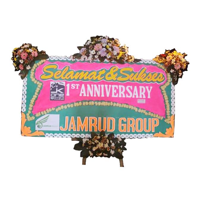 karangan bunga papan pembukaan atau peresmian di tasikmalaya jawa barat TSM - 09 elora florist