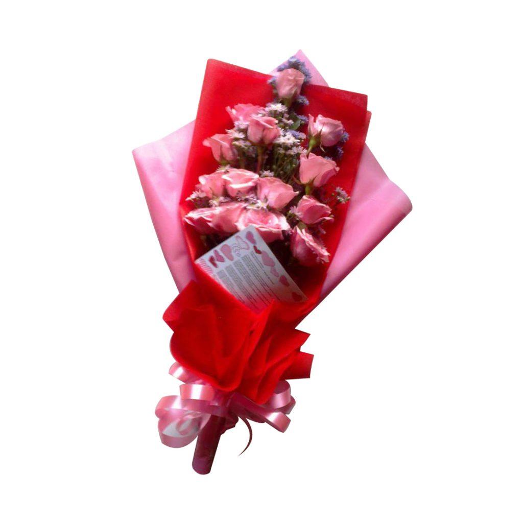 kirim hand bouquet ke tasikmalaya TSM - 04 elora florist