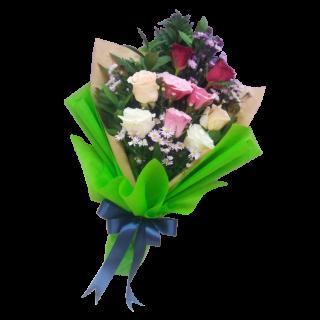 pesan bunga hand bouquet di samarinda