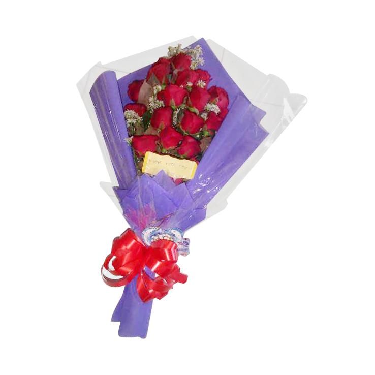 pesan bunga hand bouquet di tasikmalaya TSM HB - 03 elora florist