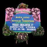 pesan bunga papan happy wedding di samarinda SMR - 014