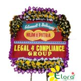 papan happy wedding di solo elora florist