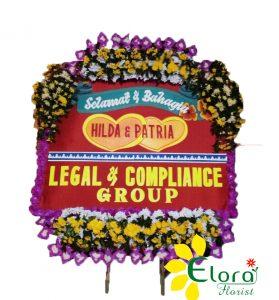 toko bunga papan wedding di surakarta solo