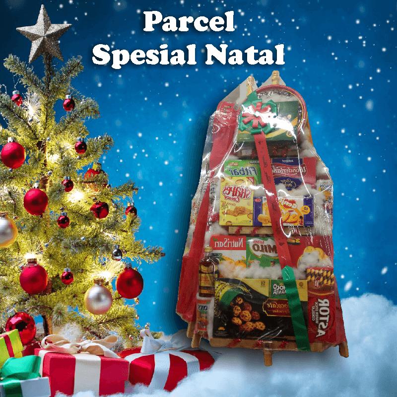 parcel natal dan tahun baru