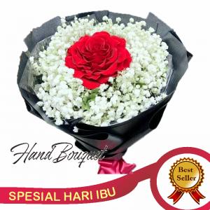 jual bunga hand bouquet hari ibu di jakarta