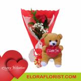 toko bunga mawar dan boneka valentine di jakarta