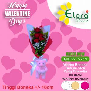 Jual Bouquet Mawar Valentine di BSD
