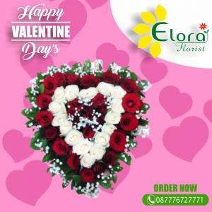 Order Bunga Mawar Valentine di Pancoran Mas