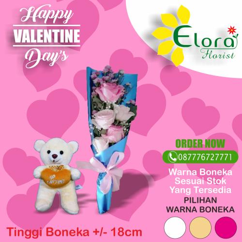 Pesan Bunga Mawar Valentine di Cimanggis