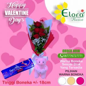 Kirim Bunga Mawar Valentine di Kelapa Dua