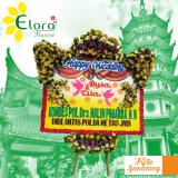 Karangan Bunga Happy Wedding Semarang SML-31