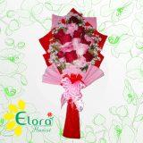 rangakaian bunga hand bouquet di kediri