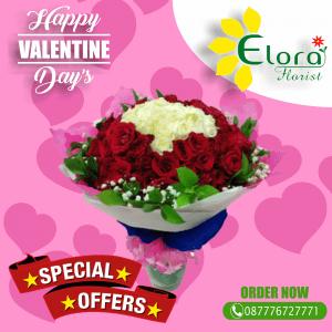 Toko Bouquet Mawar Valentine