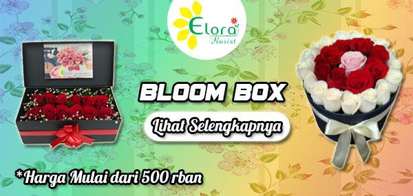 Rangkaian bunga bloom box