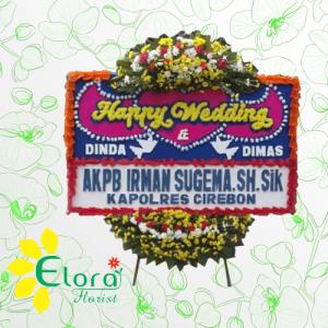 Toko Bunga Papan Wedding Tangerang