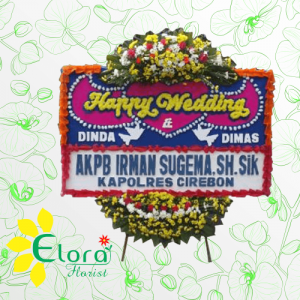 Toko Bunga Papan Pernikahan Tangerang