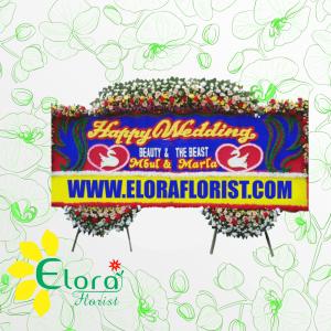Toko Bunga Papan Wedding BSD Tangerang