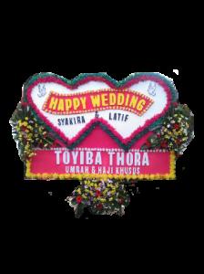 Toko Bunga Papan Wedding Bandung