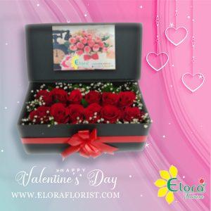 Jual Bunga Mawar Valentine di Cibubur Junction