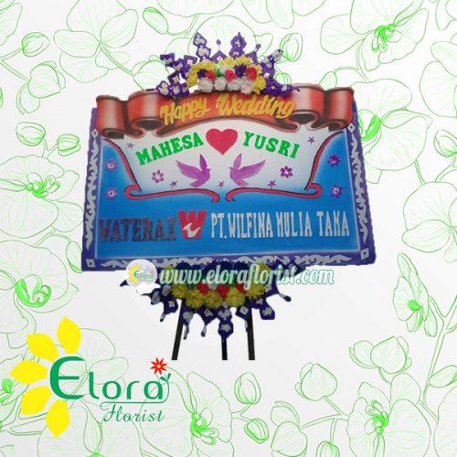 Bunga Papan Wedding Pemalang EPMW-002