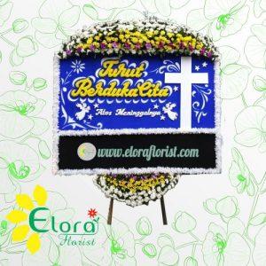 Contoh Karangan Bunga Papan Duka Cita Kristen di Bogor