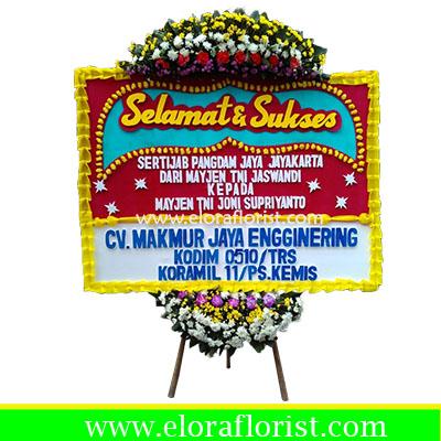 Karangan Bunga Papan Selamat Dan Sukses Jakarta EJKTC-001