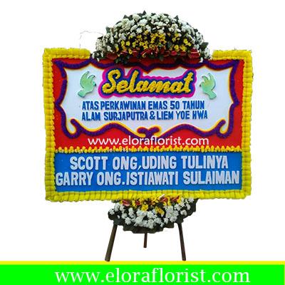 Karangan Bunga Papan Selamat Dan Sukses Jakarta EJKTC-004