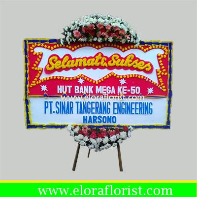 karangan bunga papan congratulation JKTC-001
