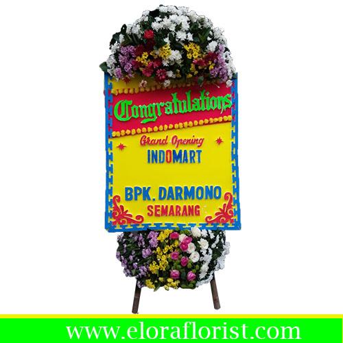 karangan bunga papan congratulation PKJ-001