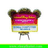 karangan bunga papan selamat dan sukses JKTC-004