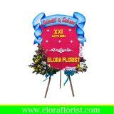 karangan bunga selamat dan sukses kecil PKJ-006