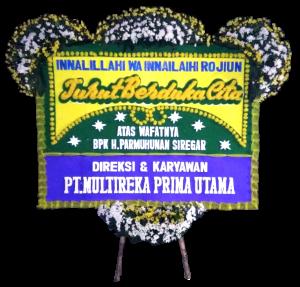 Karangan bunga papan duka cita islam di Jakarta
