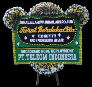 Karangan bunga papan duka cita islam di Tangerang