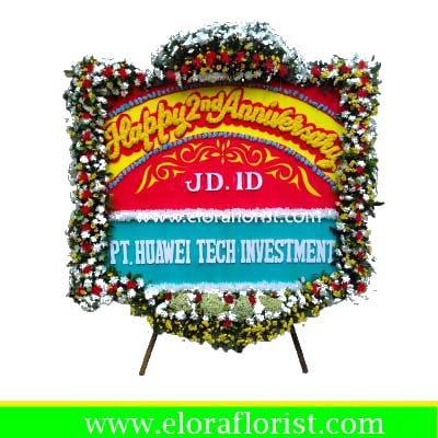 Bunga Papan Anniversary Jakarta EJKTC-025
