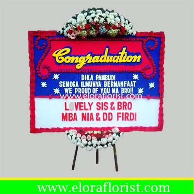 Bunga Papan Congratulations EJKTC-010