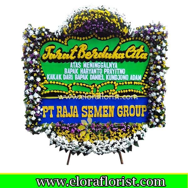 Bunga Papan Duka Cita Jakarta EJKTD-022