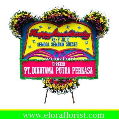 Bunga Papan Happy Anniversary EJKTC-012
