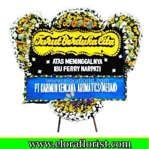 Bunga Papan Turut Berduka Cita EJKTD-032