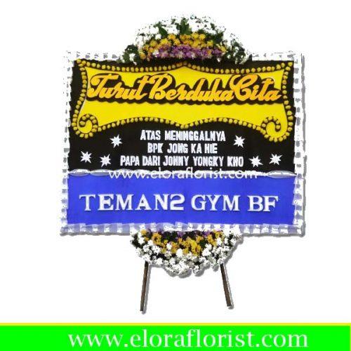 Jual Bunga Papan Duka Cita Jakarta EJKTD-006