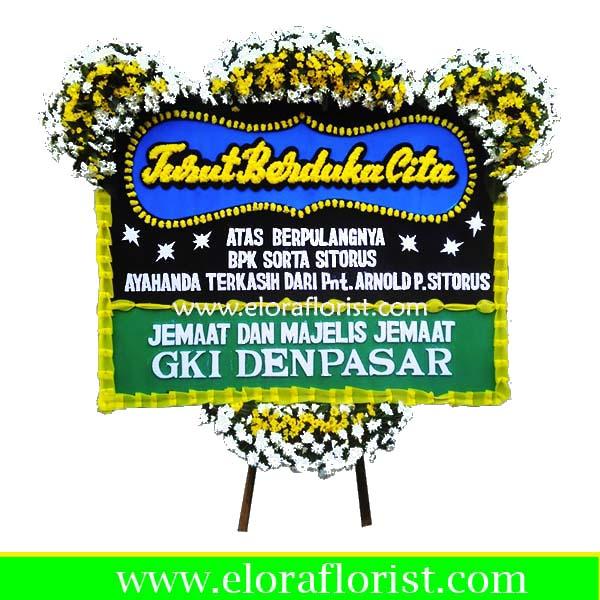 Jual Bunga Papan Duka Cita Jakarta Pusat EJKTD-015