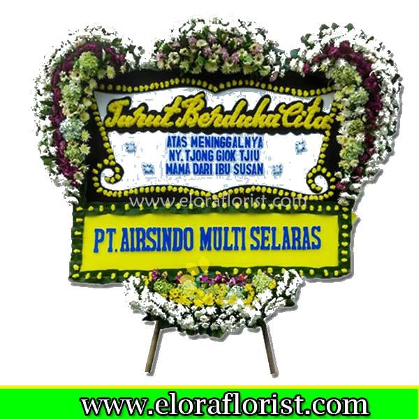 Jual Bunga Papan Ucapan Duka Cita EJKTD-033