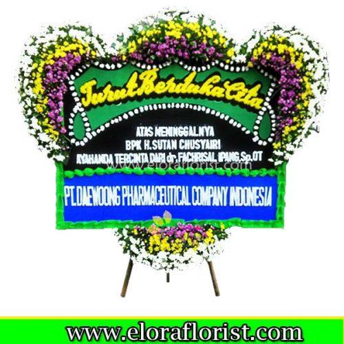 Jual Karangan Bunga Papan Duka Cita EJKTD-034