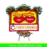 Bunga Papan Happy Wedding EJKTW-012