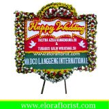 Bunga Papan Happy Wedding EJKTW-022