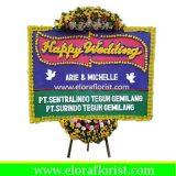 Bunga Papan Happy Wedding Jakarta Timur EJKTW-008