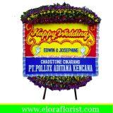 Bunga Papan Pernikahan EJKTW-023